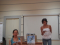 SWYAA:s of Brazil and Australia having presentation