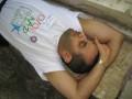 Abdul taking rest