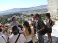 Guiding at Acropolis