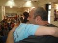 Vasilis getting hugs