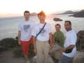 SWYers enjoying sunset