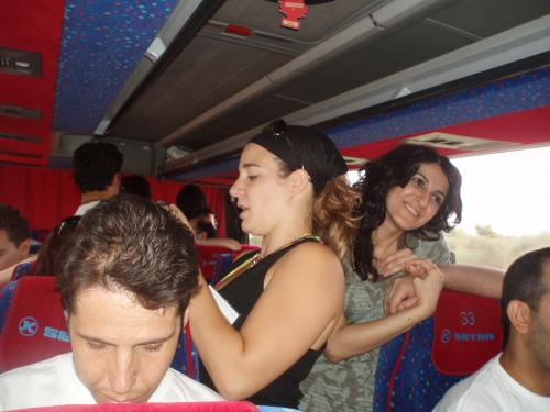 Action in bus