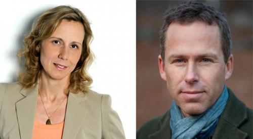 Kristina Lagerström och Erik Palm