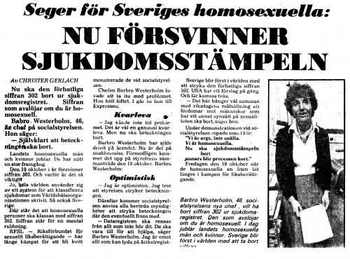 Expressen den 1 september 1979