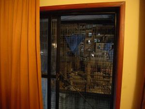 Utsikt från hotellrummet