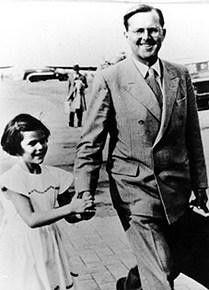 Walther Sommerlath och Silvia Sommerlath i Brasilien